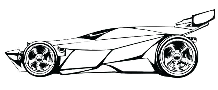 700x288 Awesome Car Template Printable Race Drawing