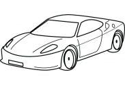 183x125 Coloring Pages For Kids Online Printable Disney Princesses Car