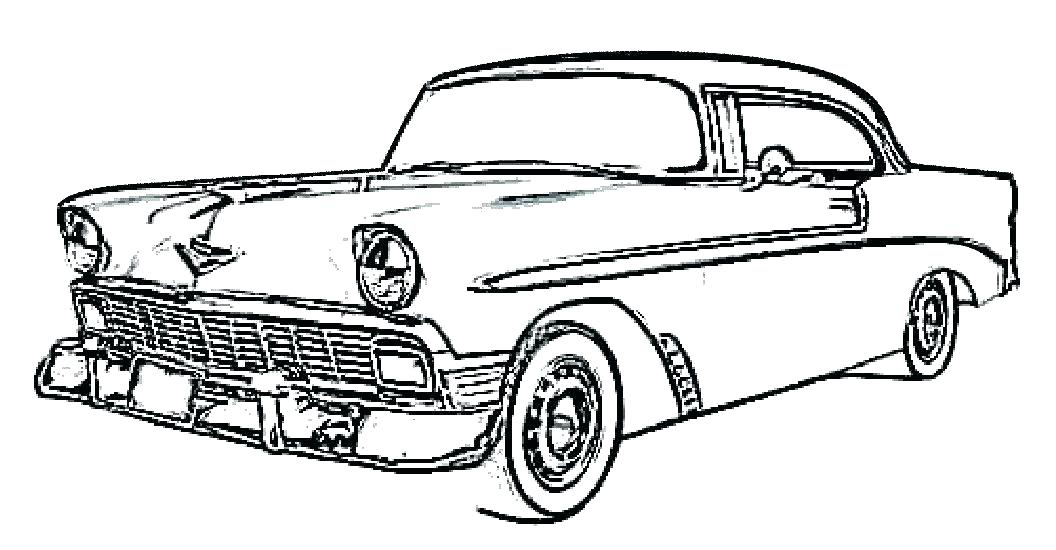 1056x550 Lowrider Car Coloring Pages Cars Drawing At Free For Personal Use