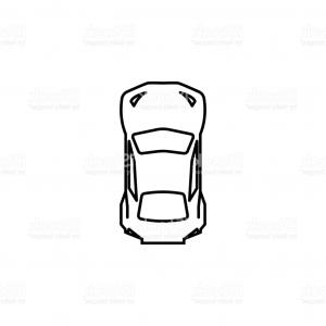300x300 Top Sports Car Silhouette Drawing Sohadacouri