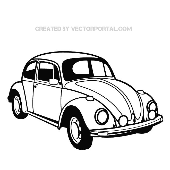 Car Drawing Vector