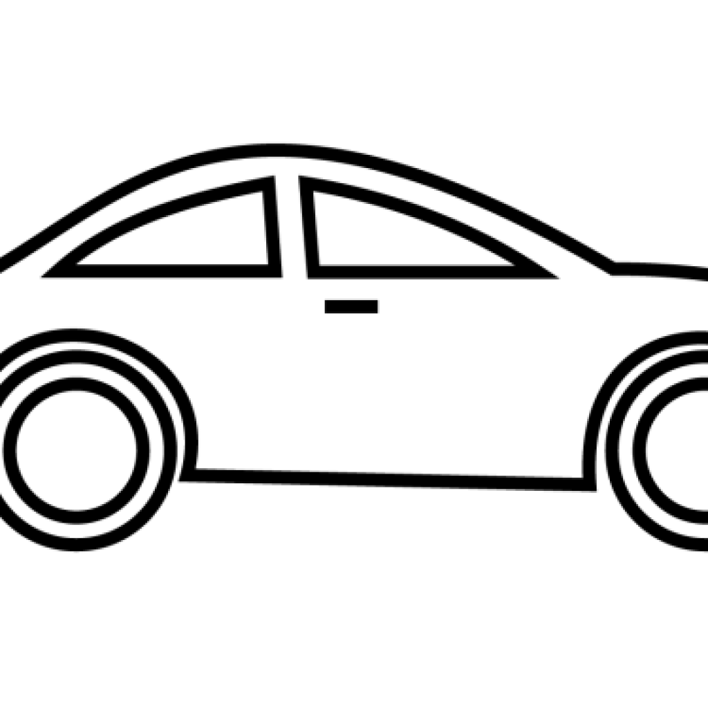1024x1024 Collection Of Free Vector Cars Black And White Download On Ui Ex
