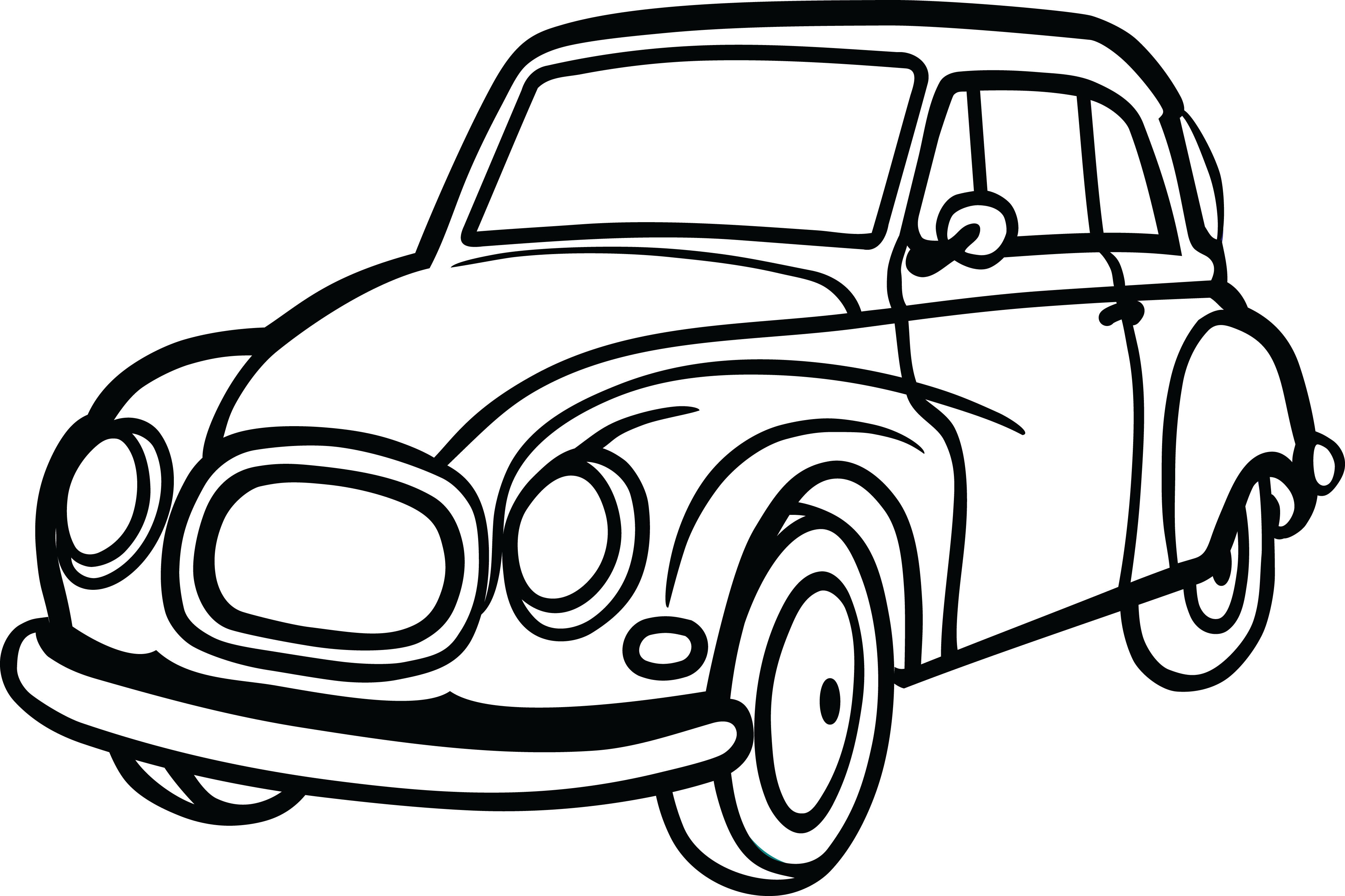 4000x2666 Huge Collection Of 'black And White Car Drawing' Download More