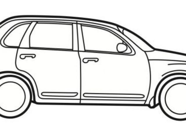 640x480 Car Line Art Free Download Clip Art