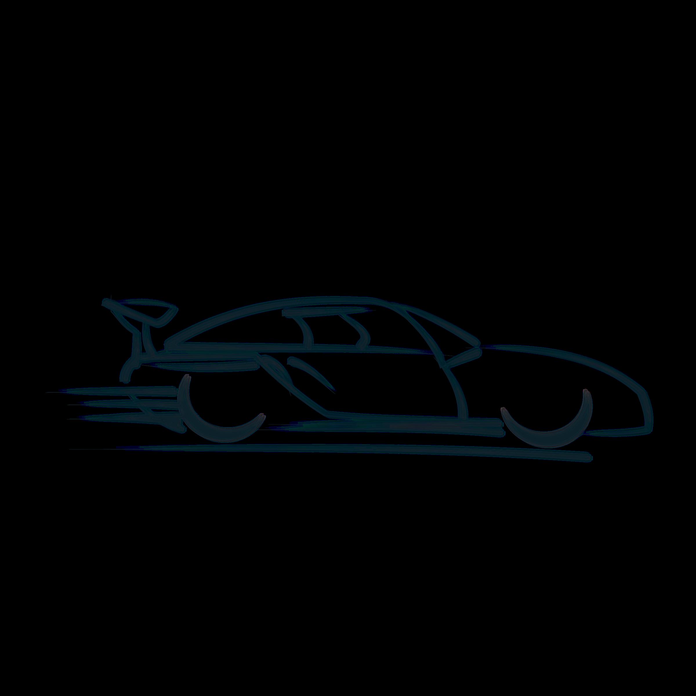2400x2400 Vector Automobile Car Sketch Huge Freebie! Download