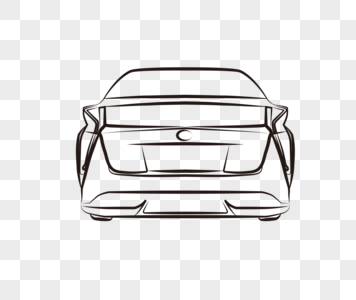 356x300 Car Line Drawing Graphics Png Icon Images