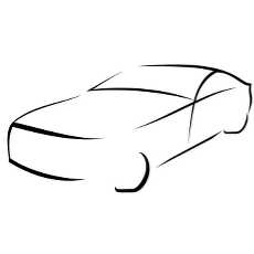 230x230 Line Drawing Vehicle Car Vector Free Vectors Downloads Found