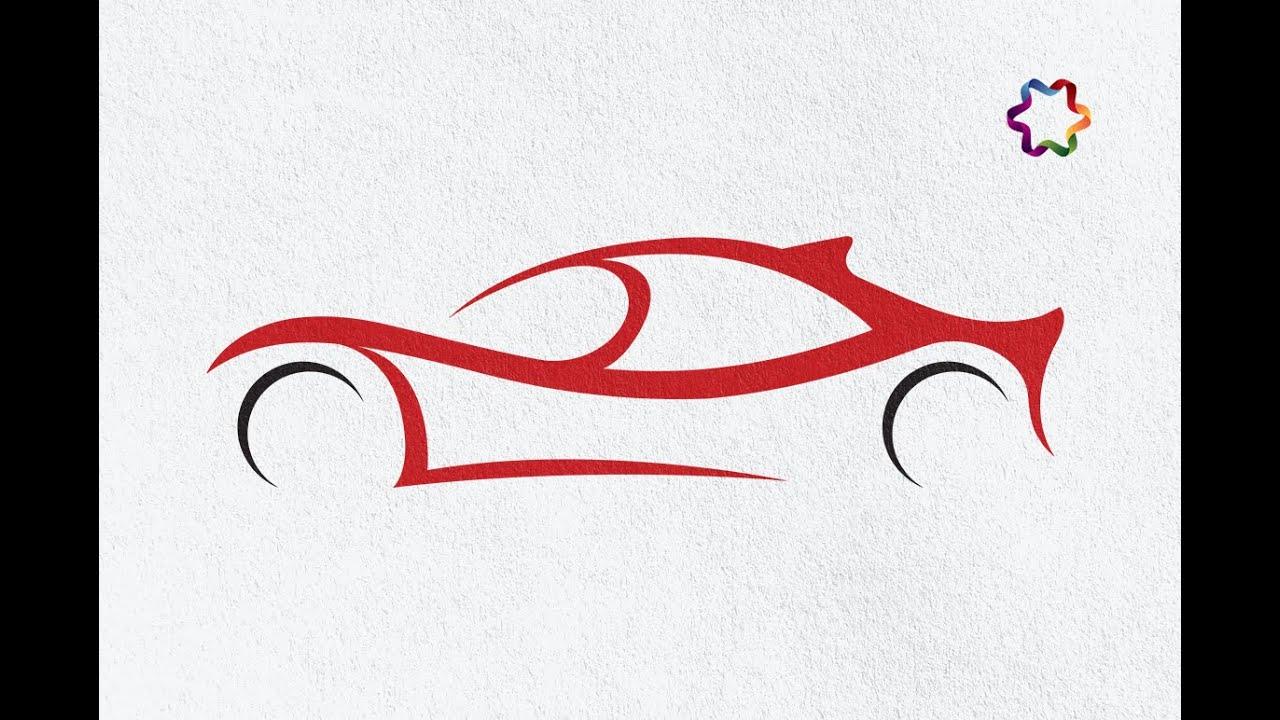 1280x720 Sport Car Logo Design Tutorial In Adobe Illustrator How To Make