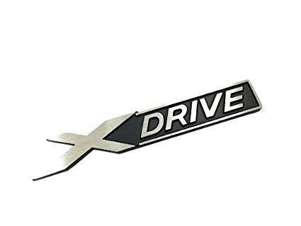 425x319 Dian Bin X Drive Black Wire Drawing Metal Sticker