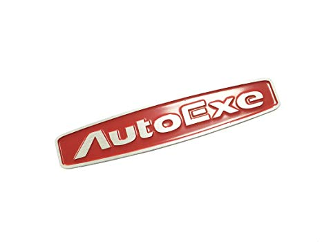 466x350 Dian Bin The Red Autoexe Wire Drawing Metal Sticker