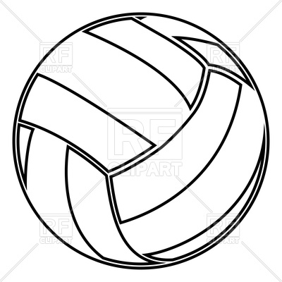400x400 Car Outline Drawing Recent Volleyball Outline Pretty Unique Red