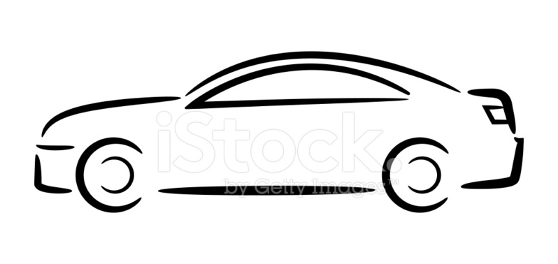 798x378 Car Stock Vector