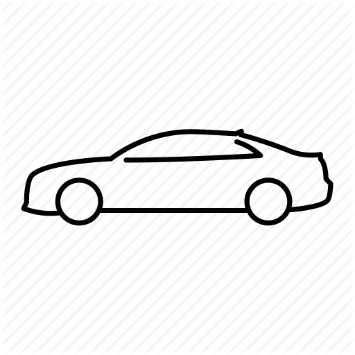 512x512 Audi Drawing Outline Transparent Png Clipart Free Download