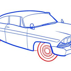 250x250 Cool Car Cartoon Drawings Supercar And Easy Best For Sketching