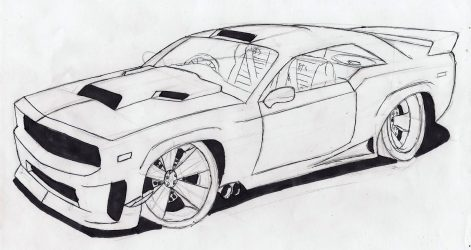 471x250 Cool Car Drawings In Pencil Step