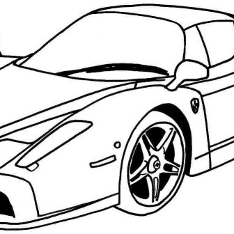 Car Side Drawing | Free download best Car Side Drawing on