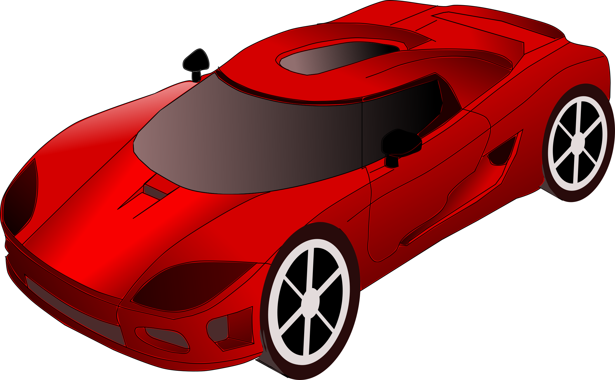 Car Top View Drawing