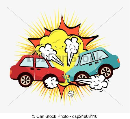 450x412 clip art car crash crash cars vector clip art