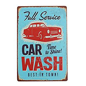 300x300 buy car wash sheet metal drawing metal painting tin shop pub wall
