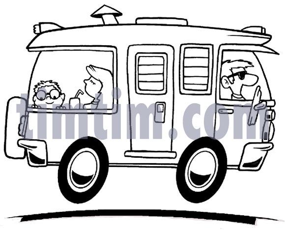 Caravan Drawing