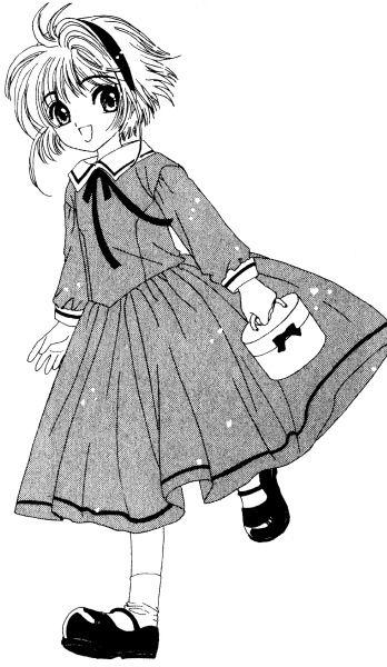 348x600 sakura's outfits from cardcaptor sakura