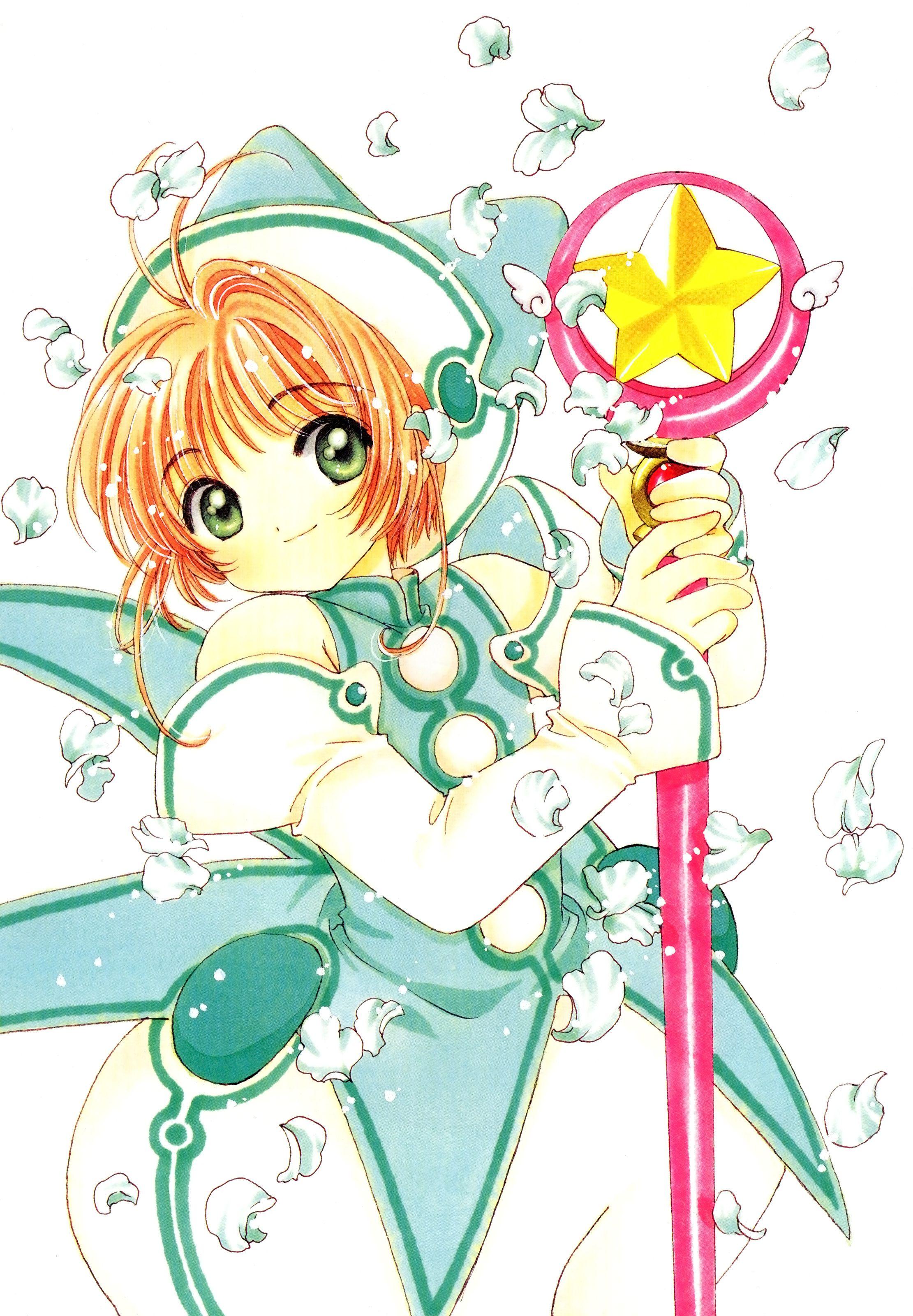 2221x3200 cardcaptor sakura clamp madhouse kinomoto sakura