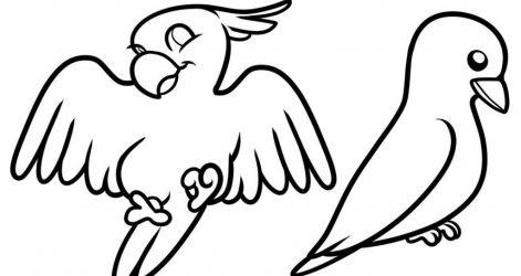471x250 Baby Bird Drawing Easy Tutorial A Cardinal Crane Big Cartoon