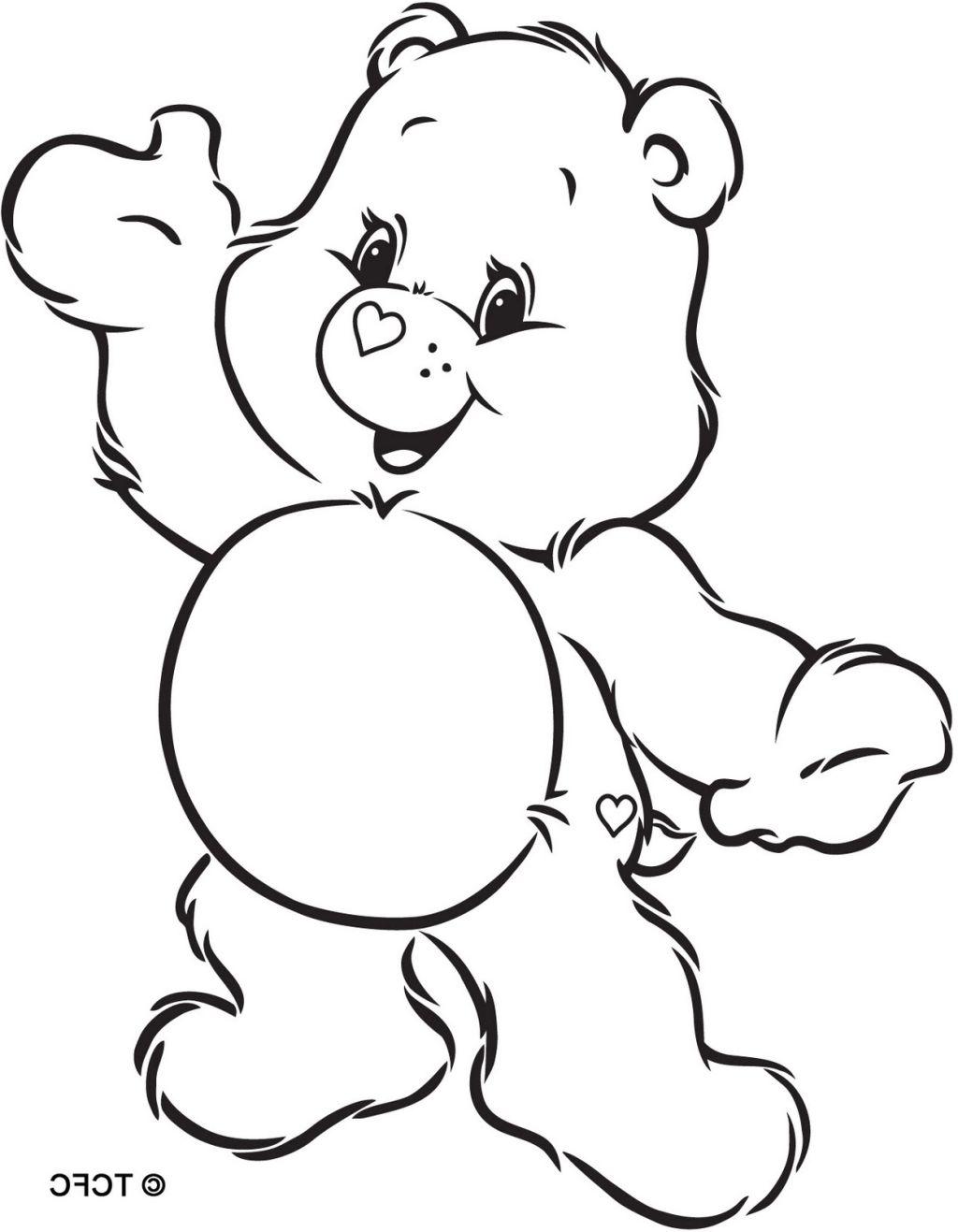 Care Bear Drawing