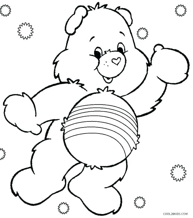 636x720 care bear coloring pages best care bears images on care bears