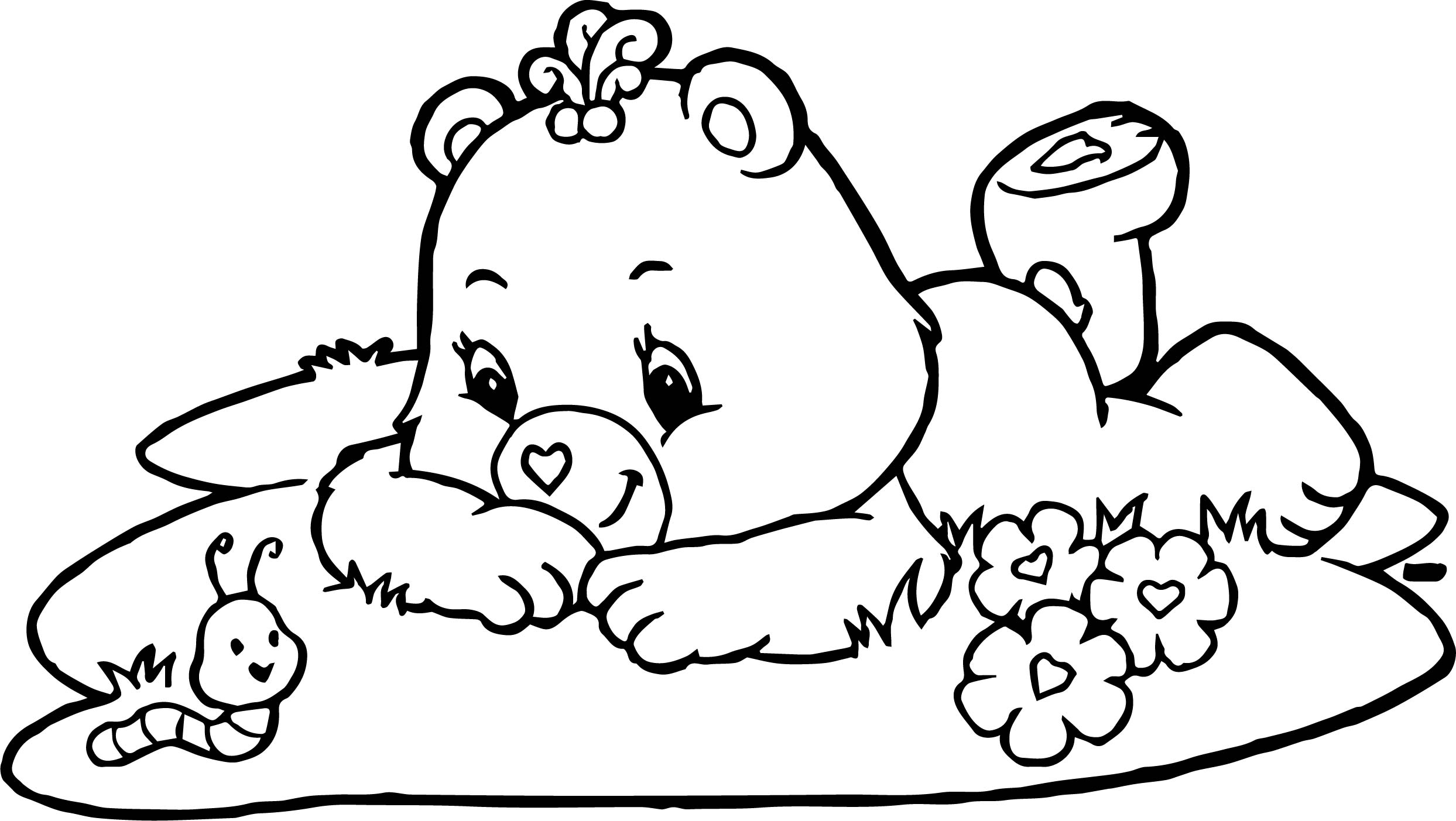 2487x1403 care bears adventures in care a lot worm coloring