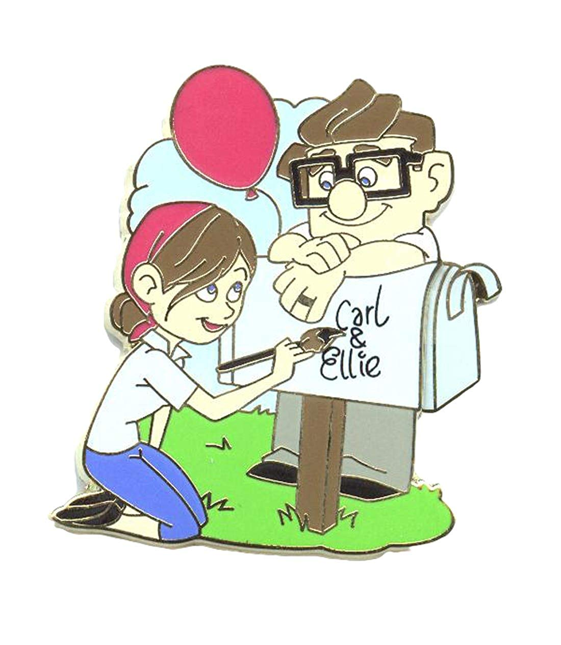 1100x1264 authentic disney up carl and ellie mailbox love