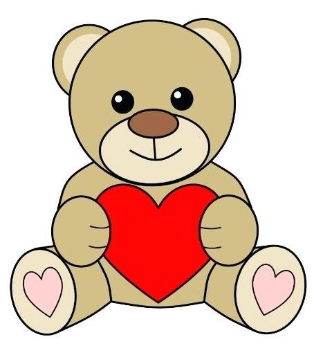 454x500 simple bear drawings simple teddy bear drawing library simple
