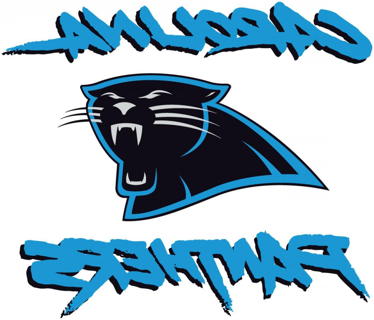 picture about Carolina Panthers Printable Logo named Carolina Panthers Drawing Free of charge down load most straightforward Carolina