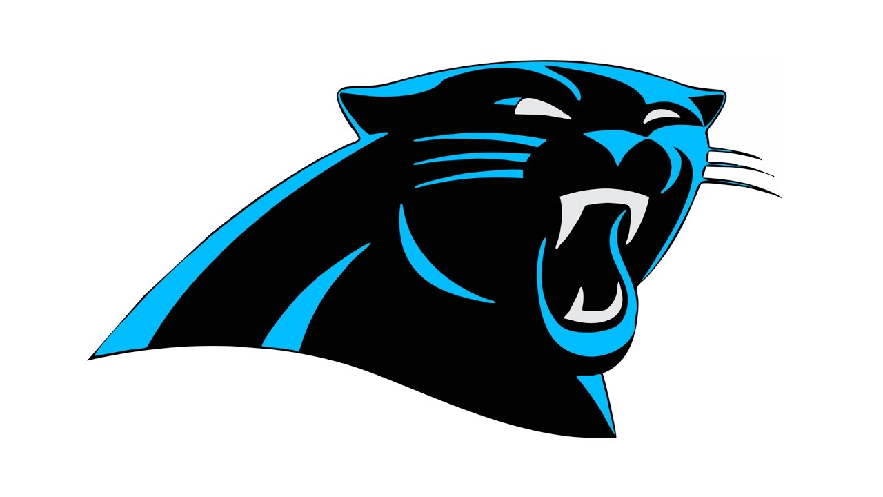 1280x720 How To Draw The Carolina Panthers Logo