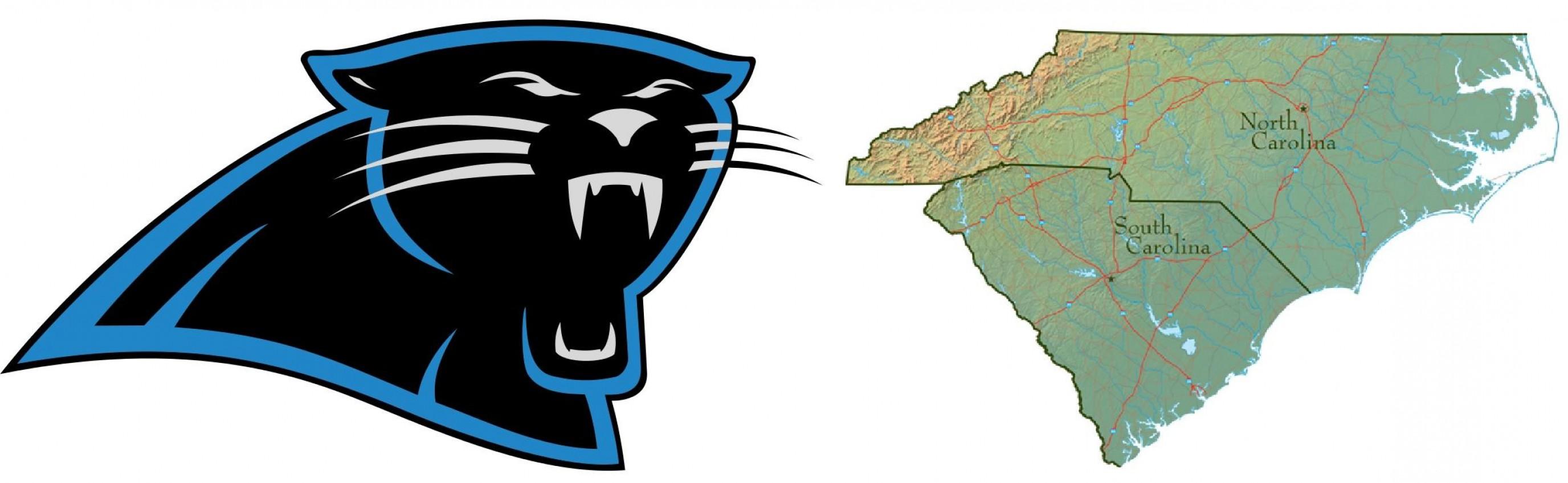 2752x849 Mesmerizing Carolina Panther Logo Panthers Alternate Drawing