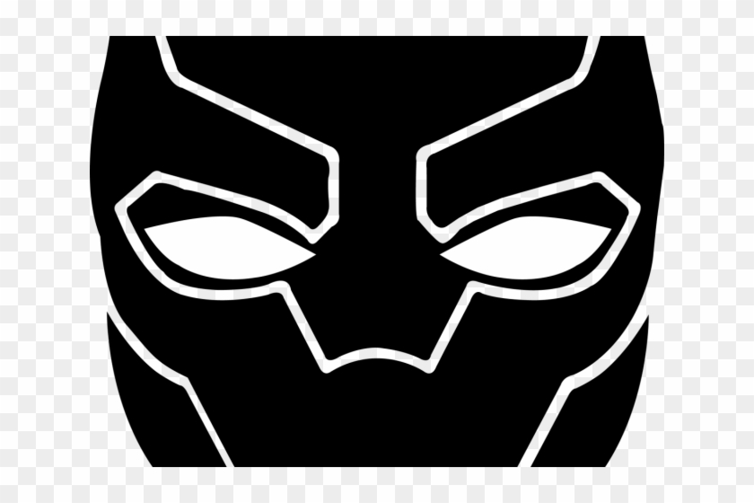840x560 Black Panther Clipart Panther Logo