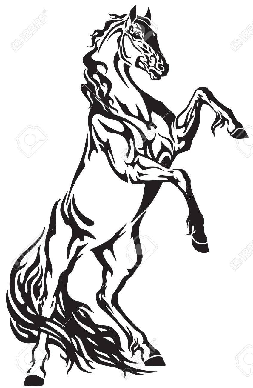 Carousel Horse Drawing Free Download On Clipartmag