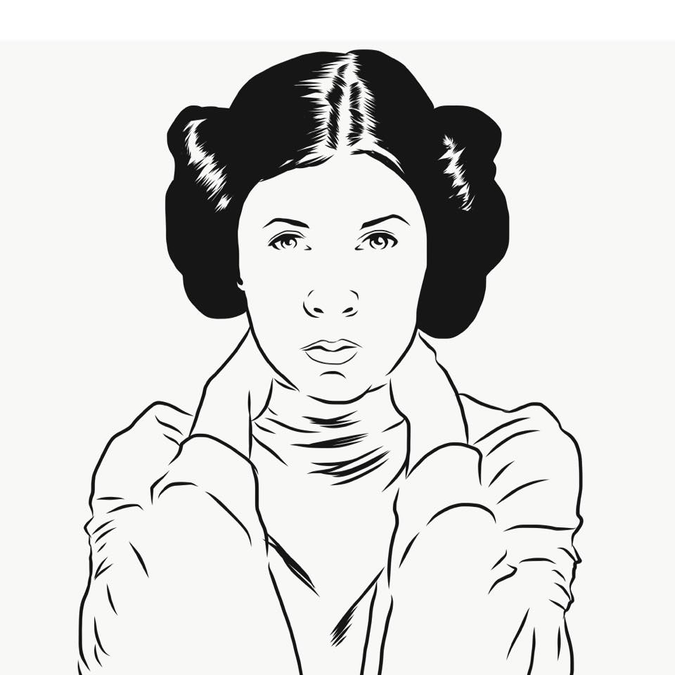960x960 Artists Assemble! Carrie Fisher Tribute Comic Book Nerds Are Hot