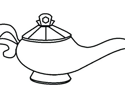 440x320 Coloring Pages For Adults Halloween Witch Kids Cars Magic Lamp