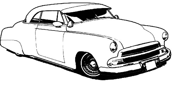 600x327 Drawing Lowrider Cars Coloring Pages