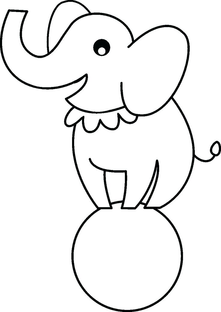 736x1037 Circus Animals Drawings Circus Animals Ac Circus Animal Cartoon