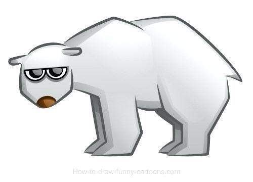 500x360 Drawings Of A Bear Easy Bear Drawing Polar Drawings Sketching