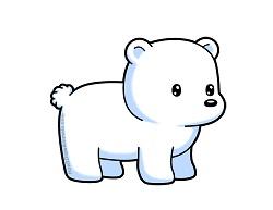 250x193 How To Draw A Polar Bear