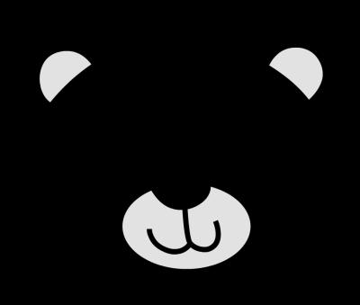 400x339 Polar Bear Clip Art Black And White Free Clipart Christmas