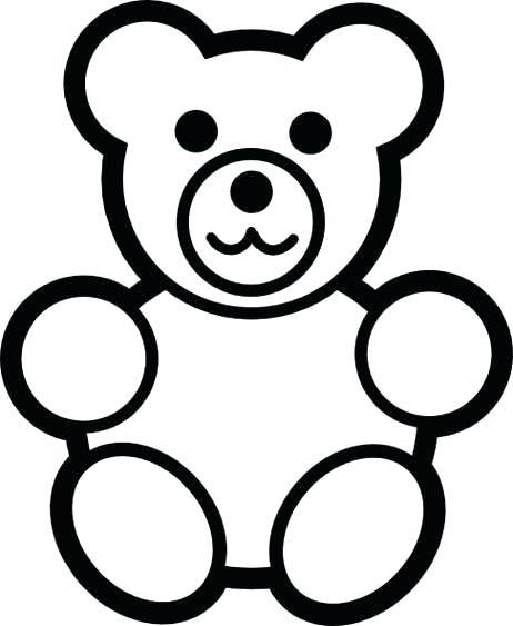 462x563 Teddy Bear Drawings Easy Way To Draw A Teddy Bear Bear Drawing