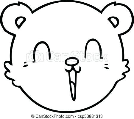 450x402 bear face drawing cute cartoon teddy bear face bear face drawing