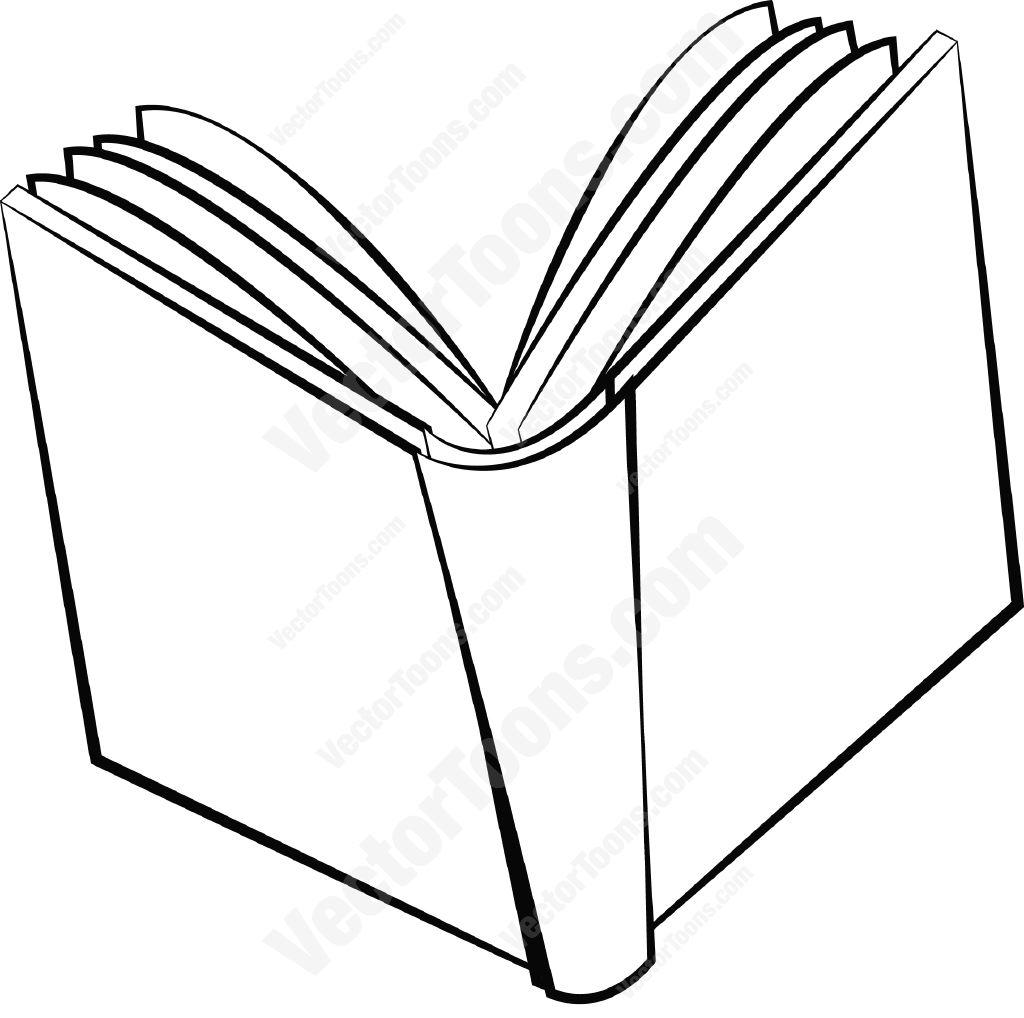 Cartoon Book Drawing