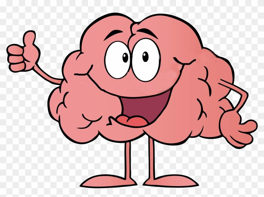 Brain animated. Cartoon drawing free download