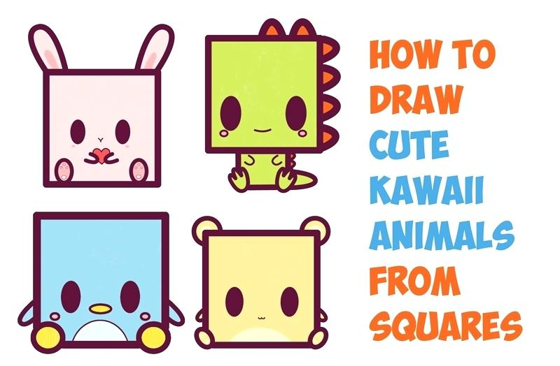800x524 Easy To Draw Dinosaur How To Draw Cute Cartoon Characters