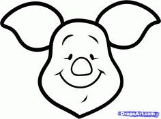 236x175 How To Draw Piglet Easy, Step